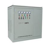 Three-phase sub-adjusted compensated voltage stabilizer
